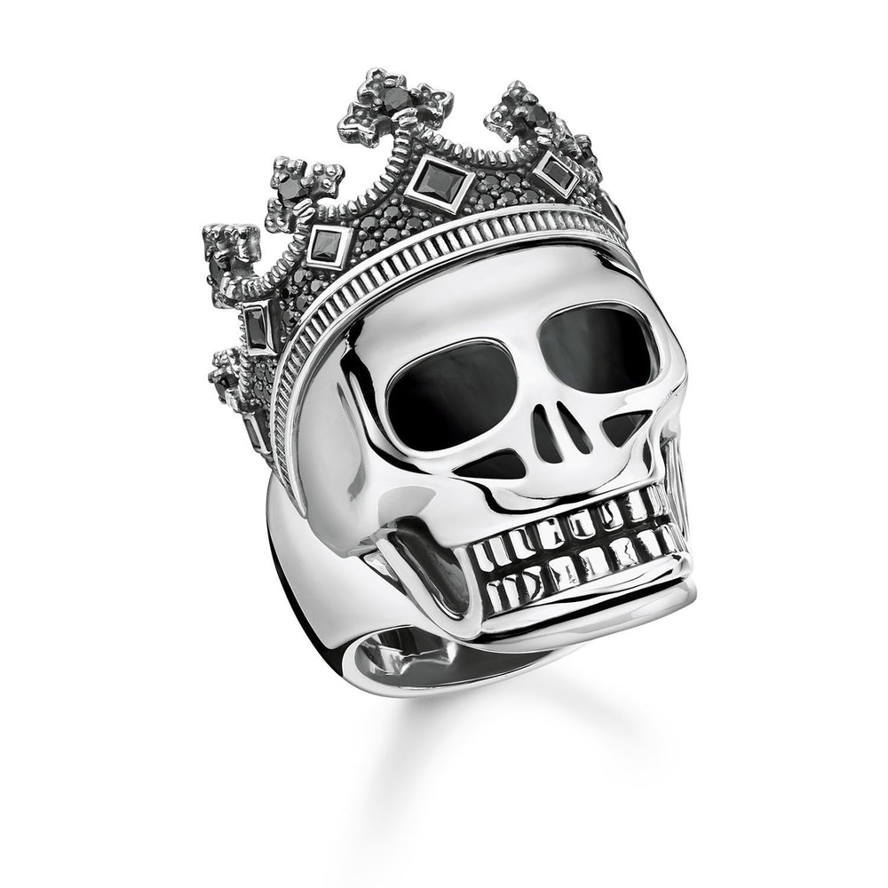"THOMAS SABO Ring ""Skull Crown"""