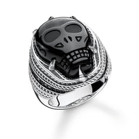 "THOMAS SABO Ring ""Onyx Skull"""
