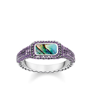 THOMAS SABO Ring Play Of Colours Green