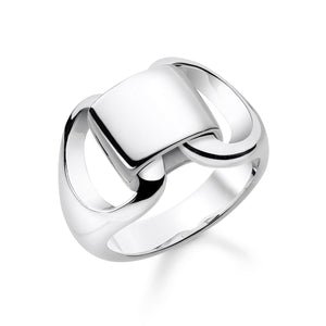 Sterling Silver Heritage Design Ring | Thomas Sabo
