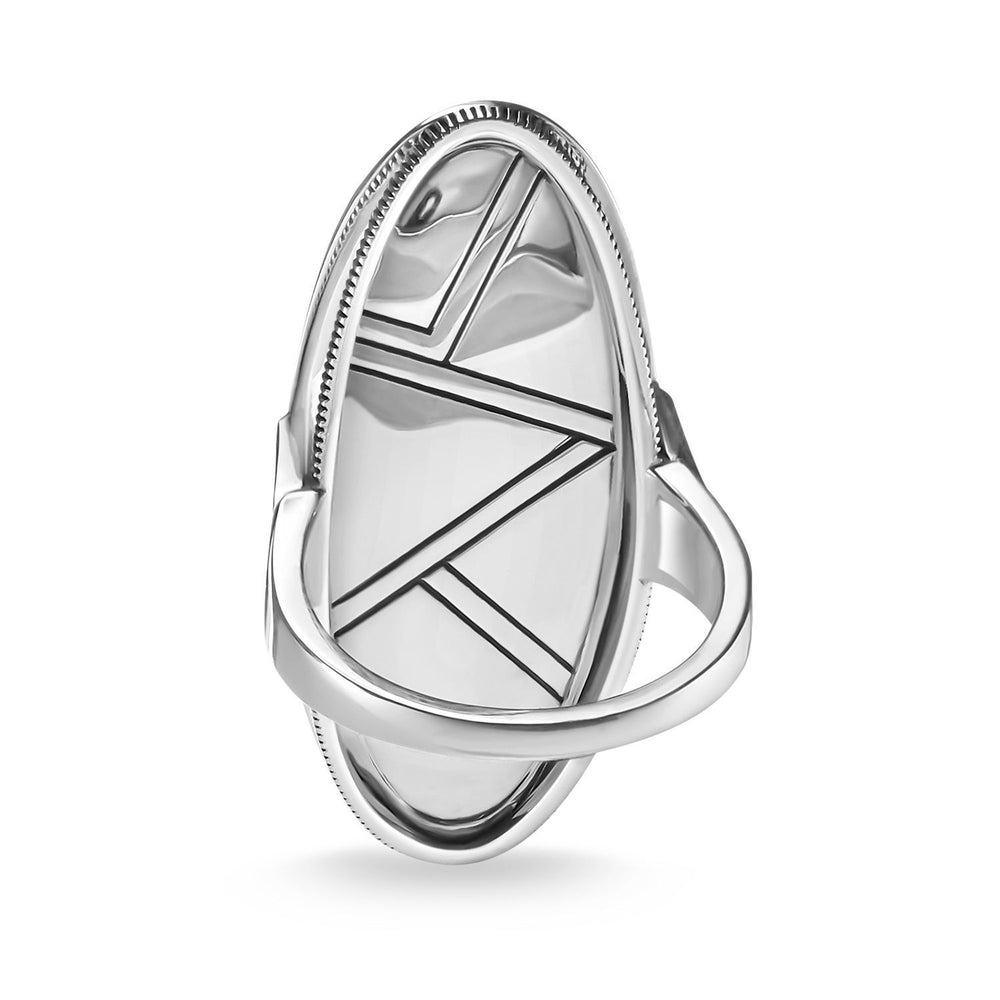 "THOMAS SABO Ring ""Turquoise, Mother-of-pearl"""