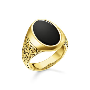 Ring Black Gold | Thomas Sabo Australia