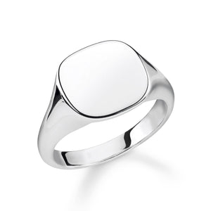 Sterling Silver Classic Signet Ring | Thomas Sabo
