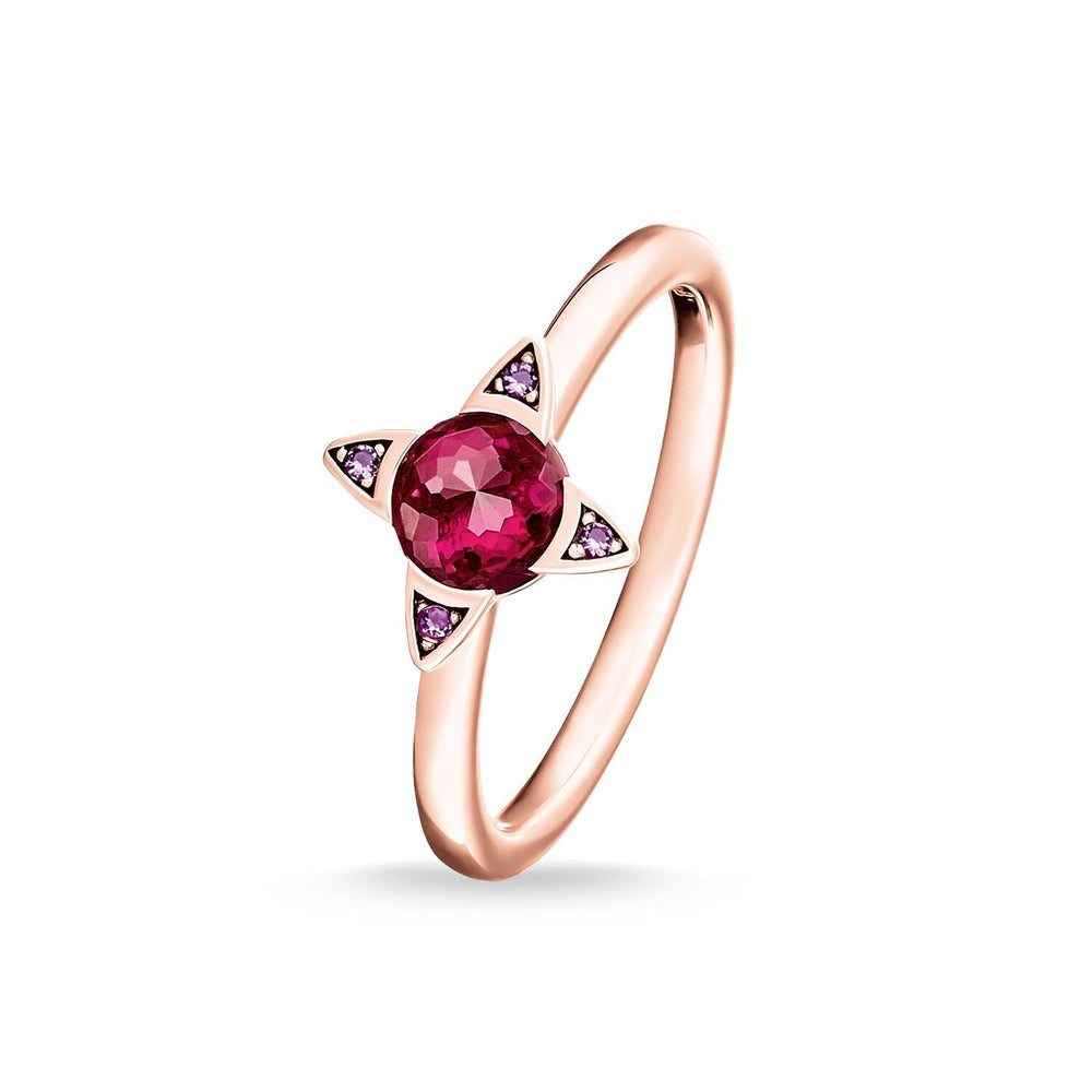 Ring Colourful Stones, Rose-coloured | Thomas Sabo