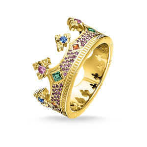 Ring Crown Gold | Thomas Sabo