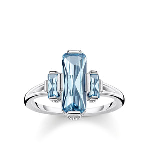 Ring: Thomas Sabo Ring Blue Stones