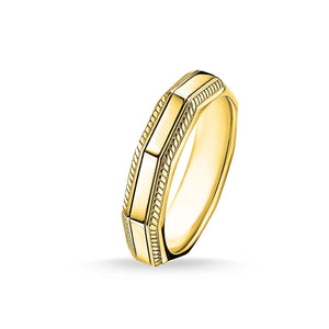 Ring Angular Gold