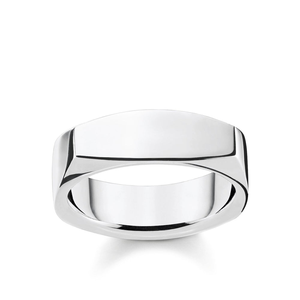 Ring Angular Silver