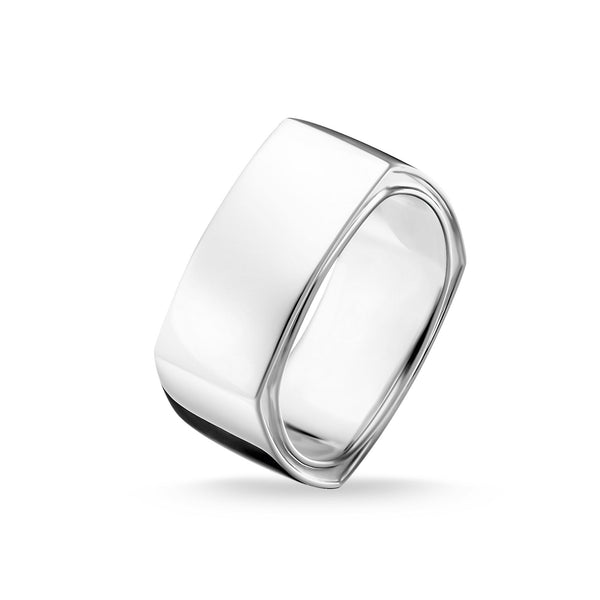 Ring Square Silver