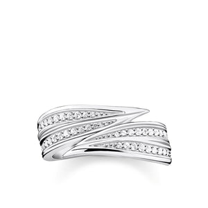 Ring Leaves Silver | Thomas Sabo