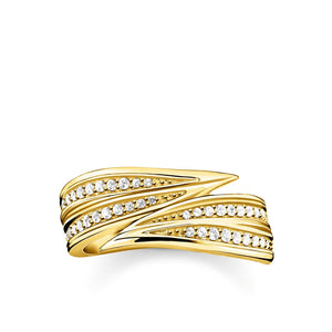 Ring Leaves Gold | Thomas Sabo