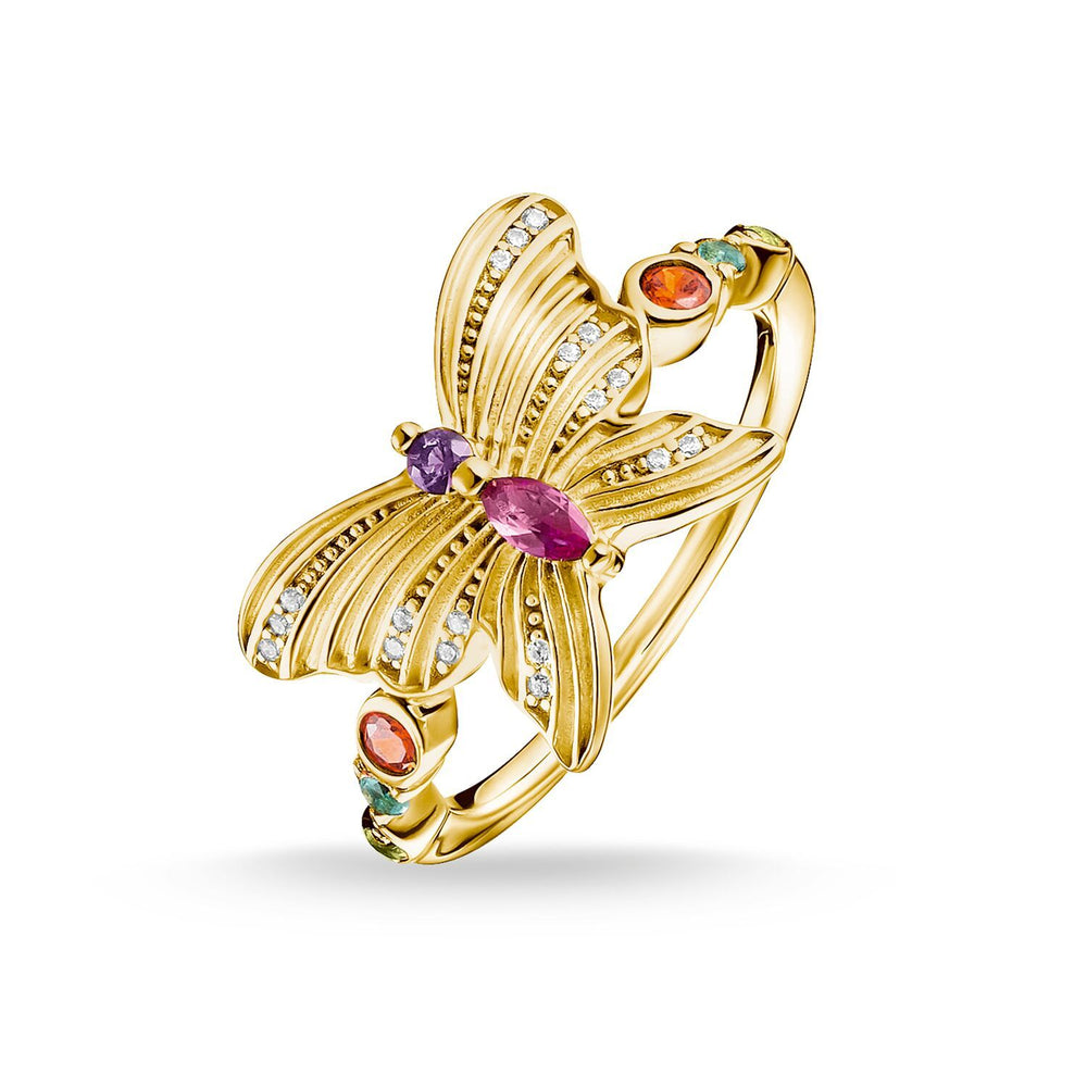 Ring Butterfly Gold | Thomas Sabo