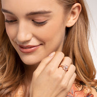 Ring Pink Stone With Star | Thomas Sabo