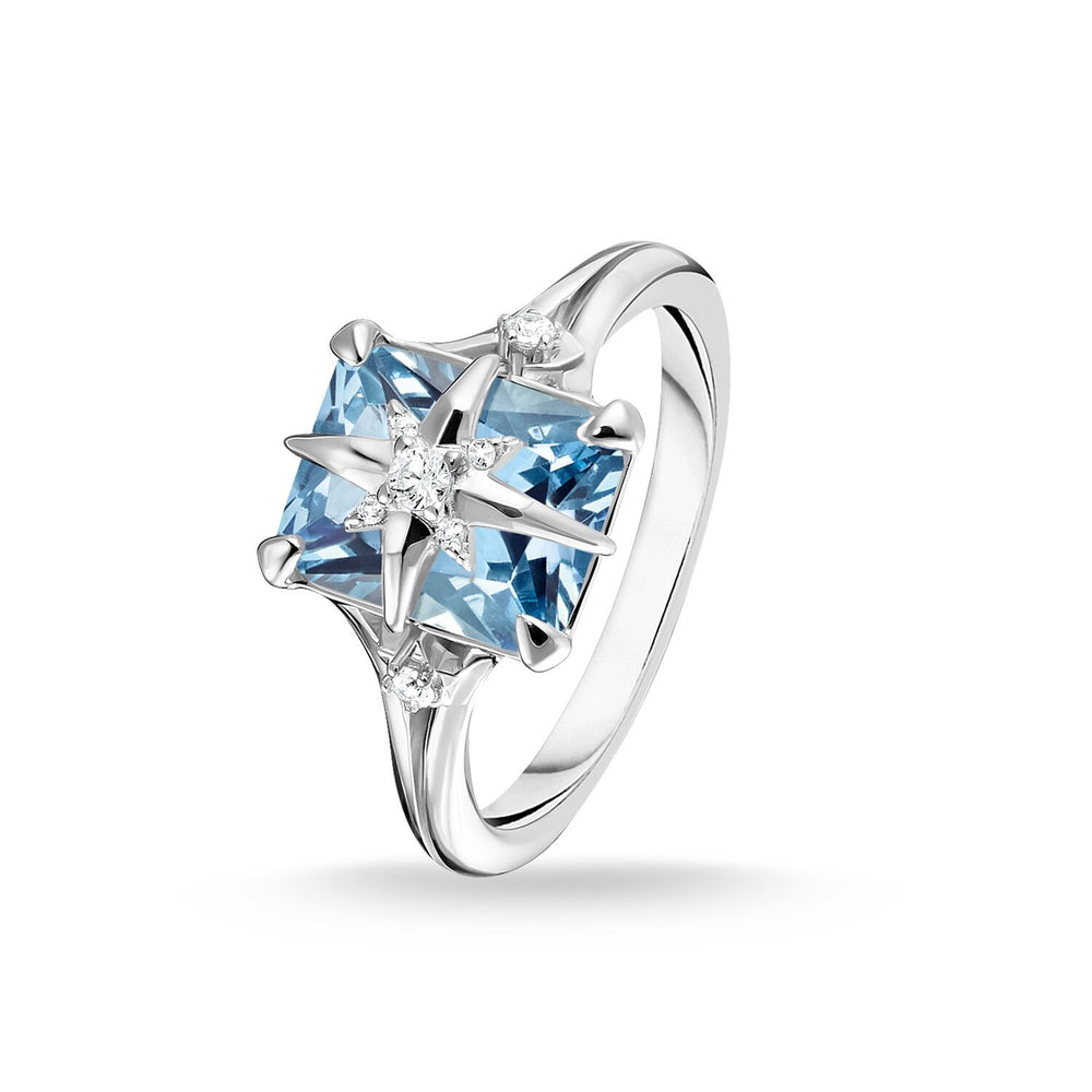 Ring Blue Stone With Star | Thomas Sabo