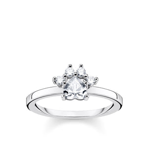 Silver Cat Paw Ring | Thomas Sabo Australia