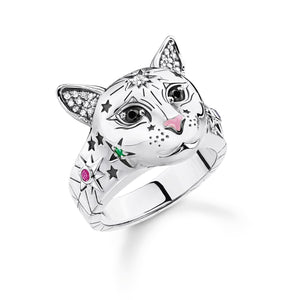 Ring Cat Silver