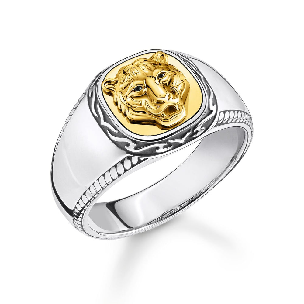 Ring Tiger Gold | Thomas Sabo