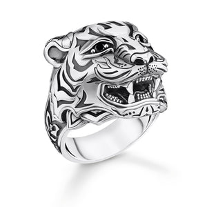 Ring Tiger Silver | Thomas Sabo