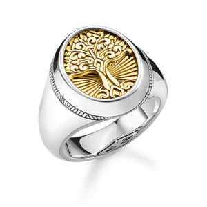 Ring Tree Of Love Gold