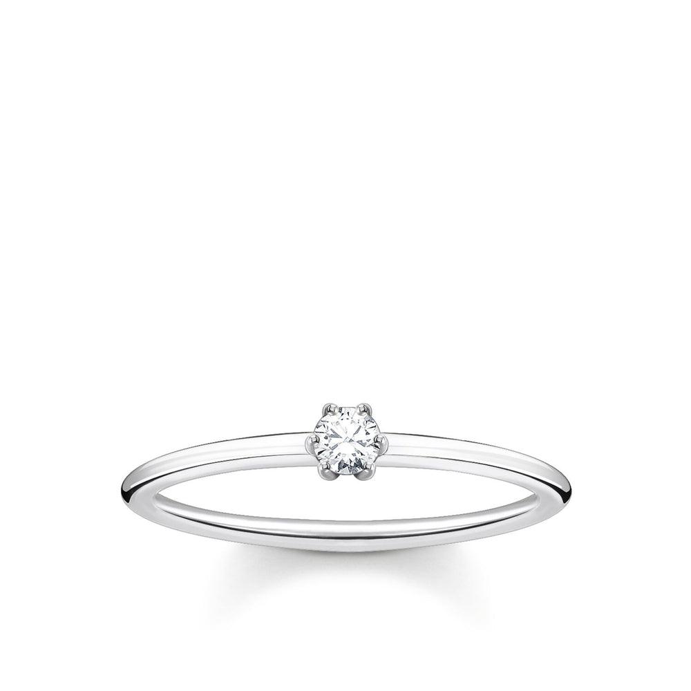 Ring White Stone | Thomas Sabo Australia