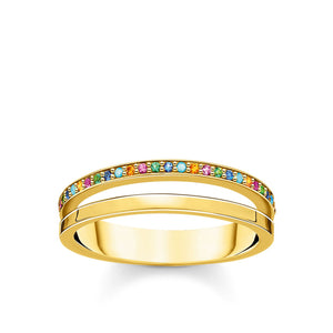 Ring Colourful Stones | Thomas Sabo Australia