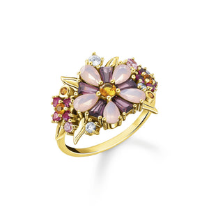Ring Flowers Gold | Thomas Sabo Australia
