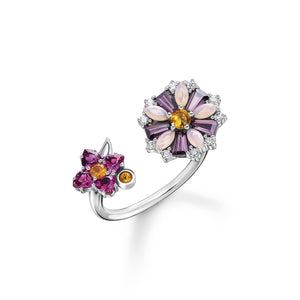 Ring Flowers Silver | Thomas Sabo Australia