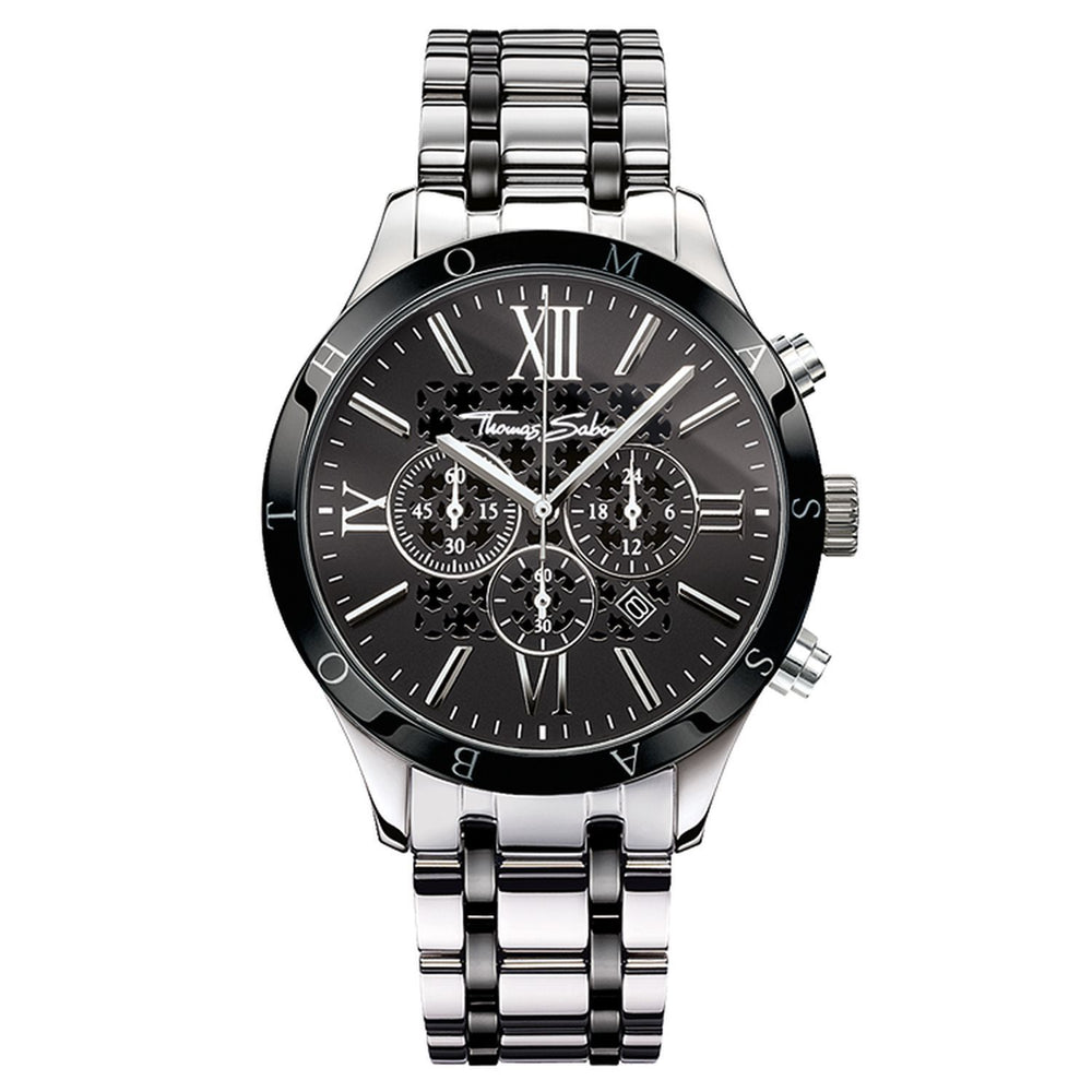 Rebel Urban Men's Watch with Stainless Steel Band | Thomas Sabo