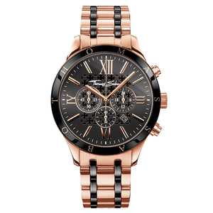 Rebel Urban Men's Watch with Rose Gold Coloured Band | Thomas Sabo