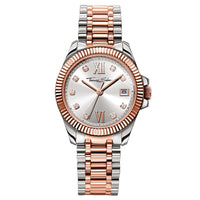 Divine Women's Watch with Silver & Rose Gold VirgoBracelet | Thomas Sabo