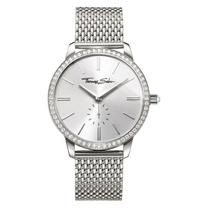 Glam Spirit Women's Watch with Silver Face & Mesh Band | Thomas Sabo