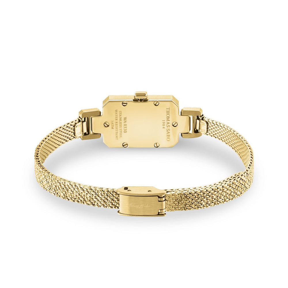 Mini Vintage Women's Watch with Gold Band | Thomas Sabo