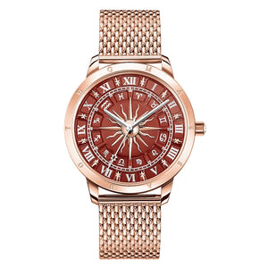Women's Watch Glam Spirit Astro Watch, Red