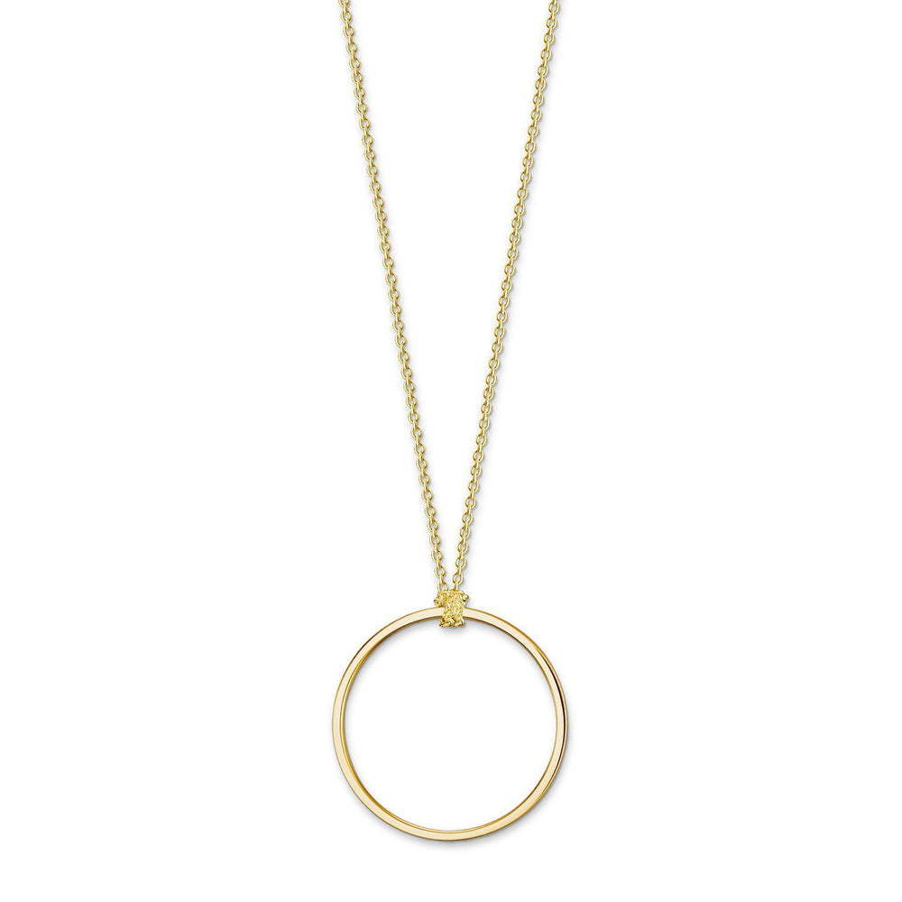 THOMAS SABO Charm Necklace Circle Silver