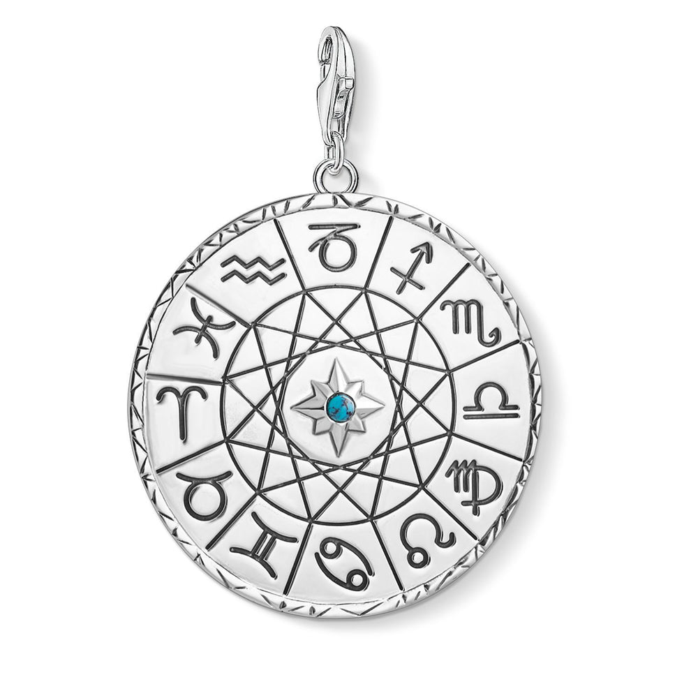 "Charm Pendant ""Star Sign Coin Silver"""