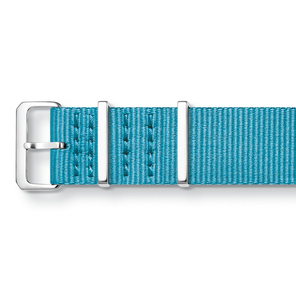 "THOMAS SABO Watch Strap ""Code Ts Nato Turquoise"""