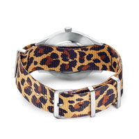 Watch Band CODE TS NATO, Animal Print | Thomas Sabo