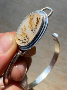 Dendritic Agate Tension Cuff