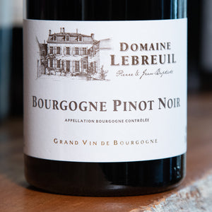 Load image into Gallery viewer, Domaine Pierre and Jean-Baptiste Lebreuil Pinot Noir - 2017
