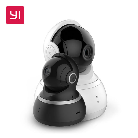 YI Dome Camera 1080P Pan/Tilt/Zoom Wireless IP Security Surveillance System Complete 360 Degree Coverage Night Vision US