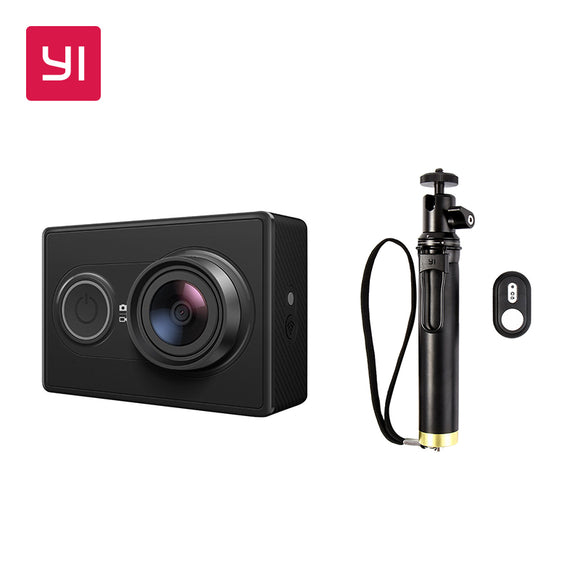 YI Action Camera 1080P High-definition 16.0MP 155 Degree Angle 3D Noise Reduction International Edition