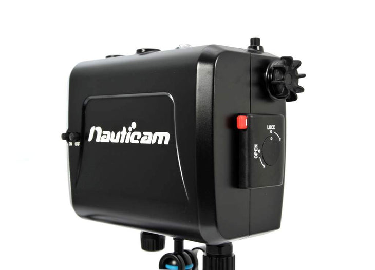 "Nauticam NA-058 housing for TVLogic VFM-058W 5.5"" Full HD Viewfinder Monitor with HDMI and SDI bulkheads and cables"