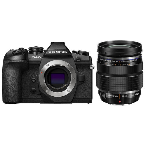 Olympus OM-D E-M1 Mark II Mirrorless Micro Four Thirds Camera with 12-40mm f/2.8 Lens Kit