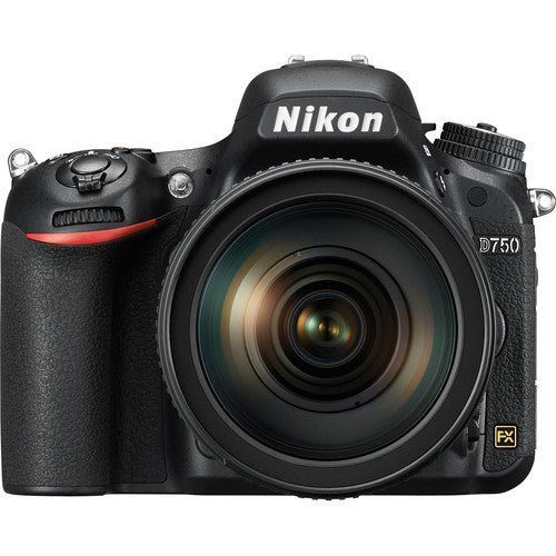 Nikon D750 DSLR Camera with 24-120mm f/4G ED VR Lens