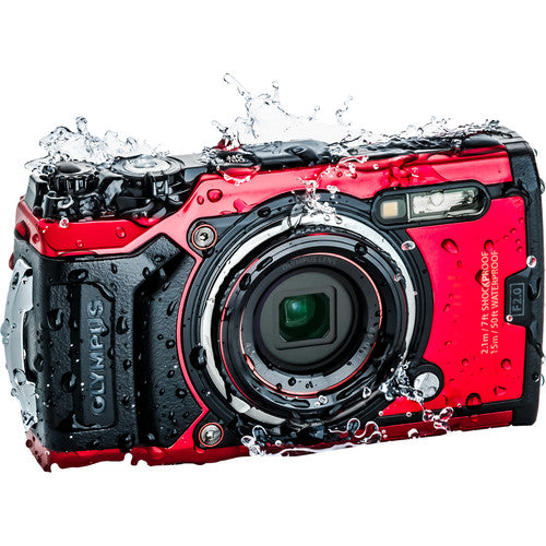 Olympus Tough TG-6 Digital Camera (Choose Color)