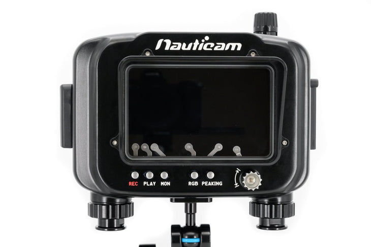 "Nauticam Atomos Ninja V Housing for Atomos Ninja V 5"" 4Kp60 4:2:2 10-bit  Recorder/Monitor/Player (HDMI 2.0 cable Sold Separately)"