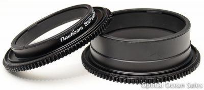 Nauticam TN1017-Z+1.4 Zoom Gear for Tokina 10-17mm with Kenko 1.4x Teleplus Pro 300