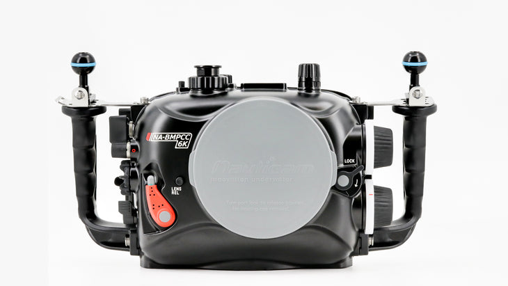 Nauticam NA-BMPCC6K Underwater Housing for Blackmagic Pocket Cinema Camera 6K (EF lens mount)