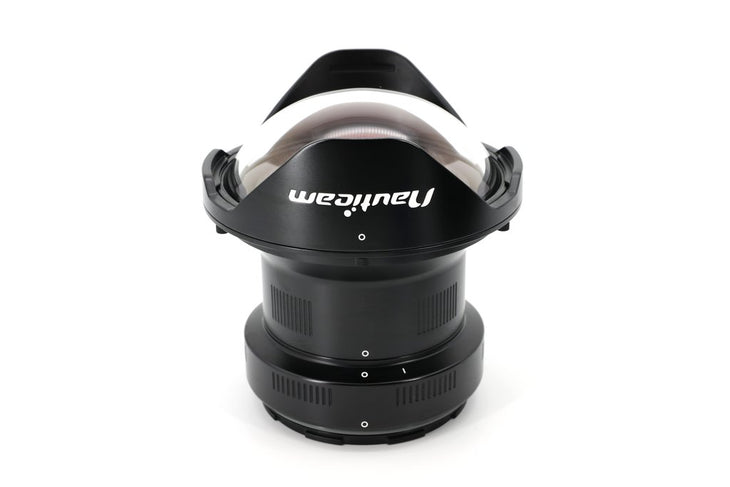 Nauticam N100 0.36x Wide Angle Conversion Port ~for Full Frame 28mm lens, incl. buoyancy collar and N120 to N100 port adaptor
