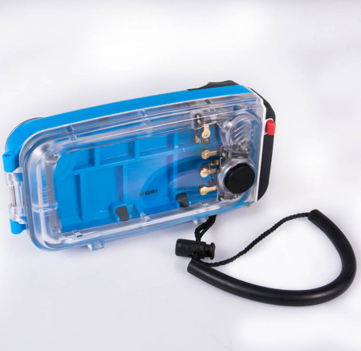 cp.1786 Used Nauticam NA-IP6 Underwater Housing for I-Phone 6 (Blue) (SKU:15103)